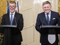 Fico a Babiš sa zhodujú: Krajiny majú stále nadštandardné vzťahy a ostávajú spojencami