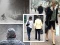 Neuveriteľný rozdiel! FOTO Slovensko takto zasiahlo mrazivé peklo, teraz útočia minisukne