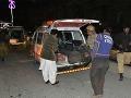Krviprelievanie v Pakistane: Bombový útok na políciu neprežilo 6 ľudí
