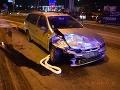 FOTO Opitý mladík šoféroval bez vodičáku, spôsobil nehodu v Košiciach: Zranilo sa dievčatko