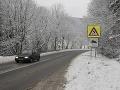 Na Slovensku husto sneží: UPOZORNENIE! Na týchto miestach si dávajte dobrý pozor