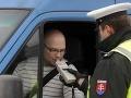 V Žilinskom kraji dnes musel tiecť alkohol prúdom: Polícia chytila až sedem opitých vodičov