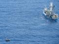 FOTO Boj o život na šírom mori: Siedmi preživší z nezvestnej lode sa dočkali záchrany