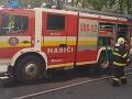 Nehoda na východe: Vodič skončil s autom v Hornáde, vyšiel z neho sám