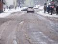 Sever Slovenska zavial sneh: Varovanie meteorológov, nebezpečenstvo na cestách