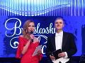 Nový moderátorky pár bálu Janette Štefánková a Ľubomír Bajaník.