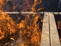 Hasiči na východe zasahujú pri požiari: Podkrovie rodinného domu je v plameňoch