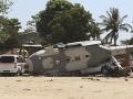FOTO Vrtuľník, na ktorého palube bol mexický minister havaroval: Akoby zázrakom nehodu prežil