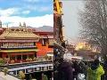 Najposvätnejší buddhistický chrám bol