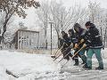 Chorvátsko je bezradné: Obrovská snehová búrka a prudký vietor, doprava kolabuje