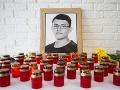 Na snímke portrét zavraždeného