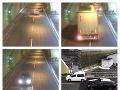 Dramatické VIDEO: Vodič dupol na brzdu v tuneli a otočil sa, sekundy od reťazovej nehody