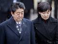 Japonský premiér zatiahnutý do škandálu: Za predaj štátnych pozemkov mu hrozí demisia