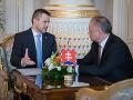 Kiska prijal Pellegriniho, je kandidátom Smeru na nového premiéra