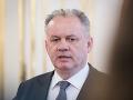 Andrej Kiska chce vládu, ktorej budeme veriť: Inak využijem všetky prostriedky hlavy štátu
