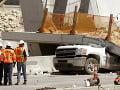 Spod zrúteného nadchodu v Miami už vytiahli všetky obete: Nehoda si vyžiadala šesť mŕtvych