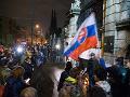 Organizátori protestov Za slušné Slovensko požiadali o stretnutie s prezidentom Kiskom