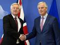 Michel Barnier a David