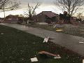 Juhovýchod USA ako vojnová zóna: Krajinu pustošili silné búrky a tornáda