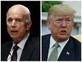 McCain sa obul do Trumpa: Ostrá kritika za blahoželanie Putinovi, diktátorom sa negratuluje