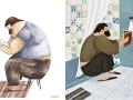 10+ nádherných ilustrácií zachytáva