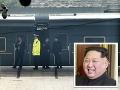 Tajomný vlak severokórejského vodcu: VIDEO Nepriestrelný, luxusný a plný vína
