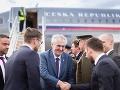 FOTO Miloš Zeman priletel do Popradu, v Tatrách sa stretne s Kiskom a Pellegrinim