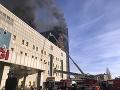 Nešťastie v Instanbule: FOTO Nemocnicu zachvátil mohutný požiar
