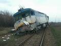 FOTO V Košiciach došlo k zrážke vlaku s kamiónom: Z miesta hlásia jednu obeť