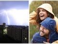 Slovensko zasiahli silné búrky: Meteorológovia varujú, toto je len začiatok, ZVRAT cez víkend
