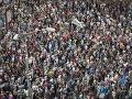 Slováci neubrali na sile: FOTO Tisícky ľudí vyšli do ulíc, aby sa postavili za život v slušnej krajine