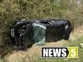 FOTO Tragická nehoda Slováka (†21) v Nemecku: Zišiel z cesty a vyletel z vraku