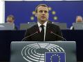 Podľa Macrona je demokracia najlepšou šancou pre EÚ: Toto si myslí o rozširovaní únie