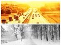 Extrémny ZVRAT počasia VIDEO: Pred rokom v Bratislave snežilo, cez víkend padne rekord