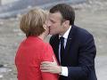 Macron sa v Berlíne stretol s Merkelovou: Zhodli sa na nutnosti spoločných návrhov obnovy EÚ