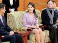 Manželka severokórejského vodcu Kim