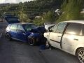 Tragická čelná zrážka áut pri Žiline: FOTO Mŕtvy mladík (†21), päť ťažko zranených