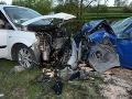 Fatálna nehoda pri Žiline: FOTO Mladík (†21) prešiel s Golfom do protismeru, 5 zranených