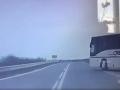 Nezodpovedné konanie vodiča autobusu.