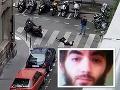 FOTO útočníka z Paríža: Šialenec bodal do ľudí, čečenský prezident viní Francúzsko