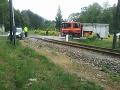 Pri Porúbke sa zrazil motorový vlak s autom: FOTO Všetci mali šťastie v nešťastí