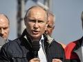 Ruské vojnové lode zostanú pri brehoch Sýrie, vyhlásil Vladimir Putin
