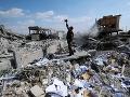 Sýriou otriasla séria výbuchov: Útoky na armádne letisko zabili 11 spojeneckých vojakov
