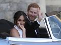 Kráľovský pár na svadobnej