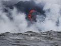 Láva zo sopky Kilauea