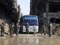 Úspešné ťaženie sýrskej armády na konci: Dobyla aj posledné štvrte Damasku