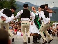 Folklórny festival vo Východnej