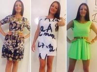 Kristína Kormúthová na Facebooku rozpredáva svoje oblečenie.