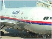 Boeing malajzíjskej spoločnosti