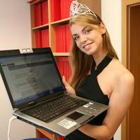 Miss Slovensko 2008 Edita Krešáková.